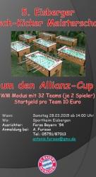 5. Eisberger Tisch-Kicker-Turnier