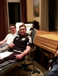 Blutspenden 2. Mannschaft