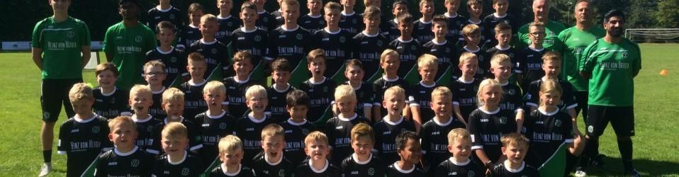 Jugendabteilung bei Hannover 96-Nürnberg