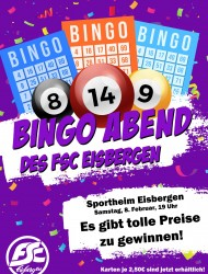 Bingo im Sportheim!